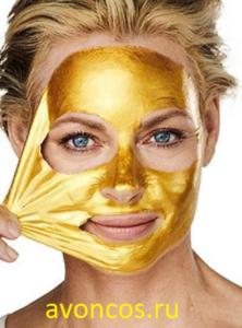 Anew золотая маска пленка эйвон
